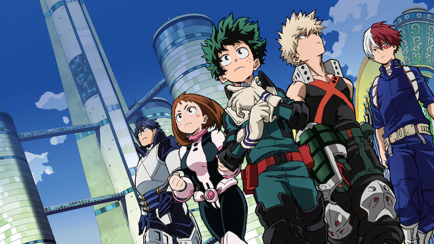 My Hero Academia Two Heroes Is My Hero Academia Two Heroes On Netflix Flixlist